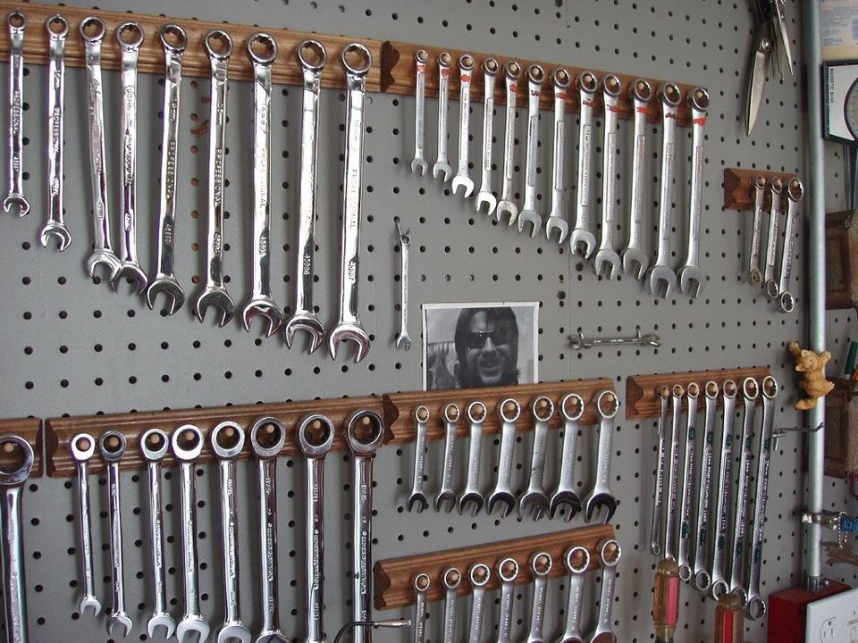 хранение гаечных ключей