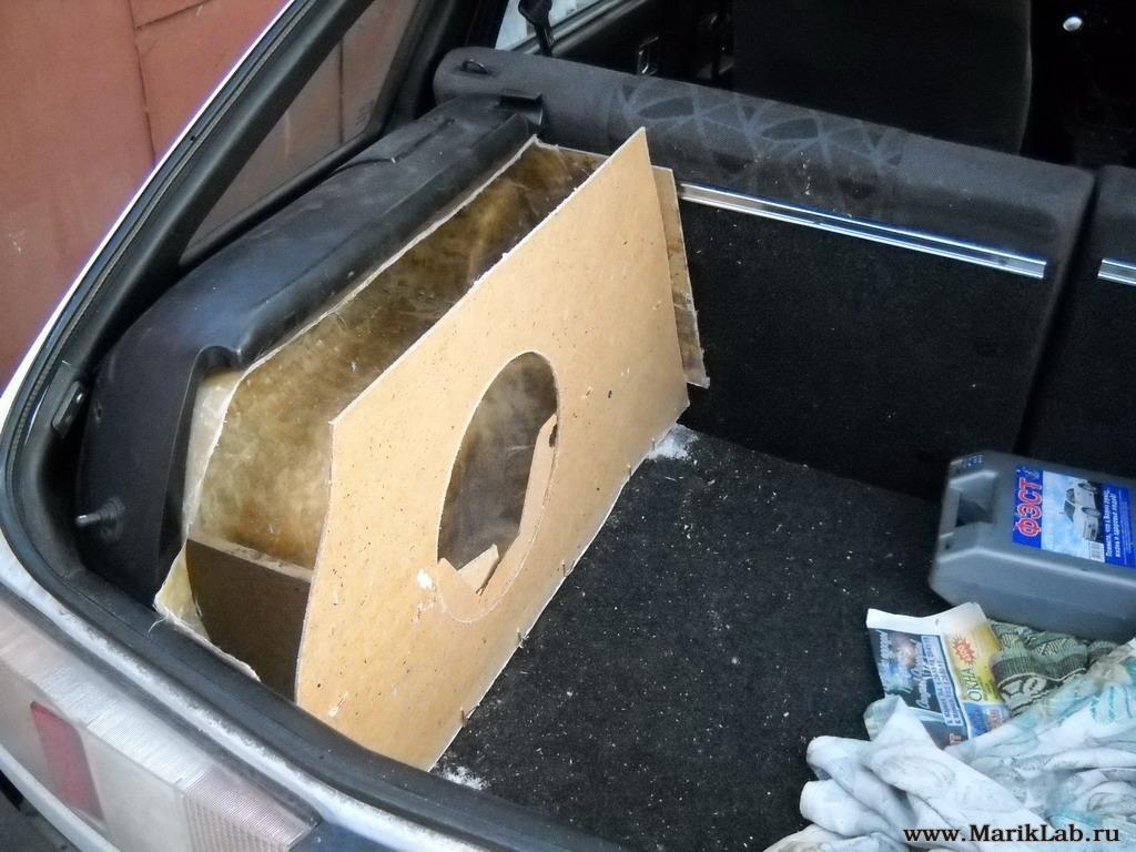Корпус сабвуфера в авто своими руками