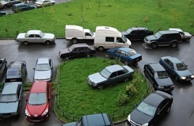 Как парковаться около дома