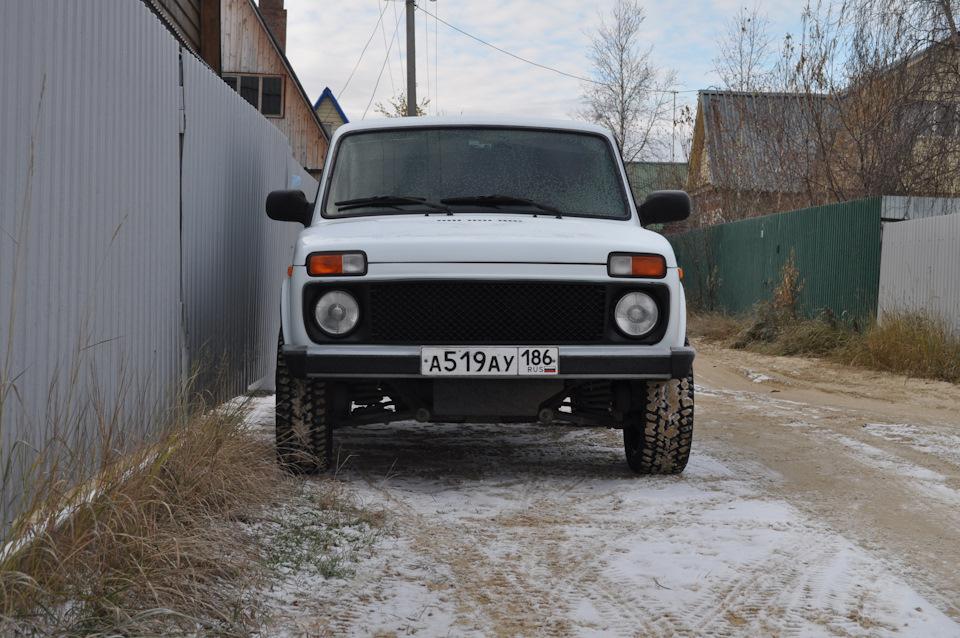 решетка радиатора нива бентли стайл drive2.ru