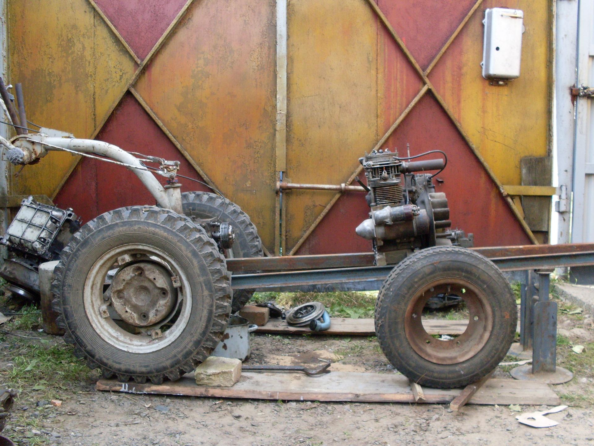 Трактор своими руками фото