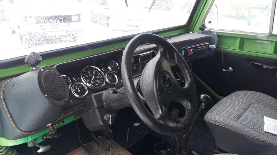 ЛуАЗ 969 LUAZ GUNNER