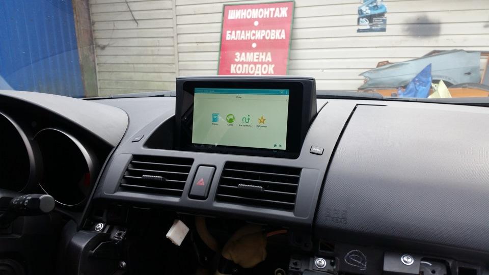Переделка mazda3 oem navigation в carandroid при помощи asus nexus7