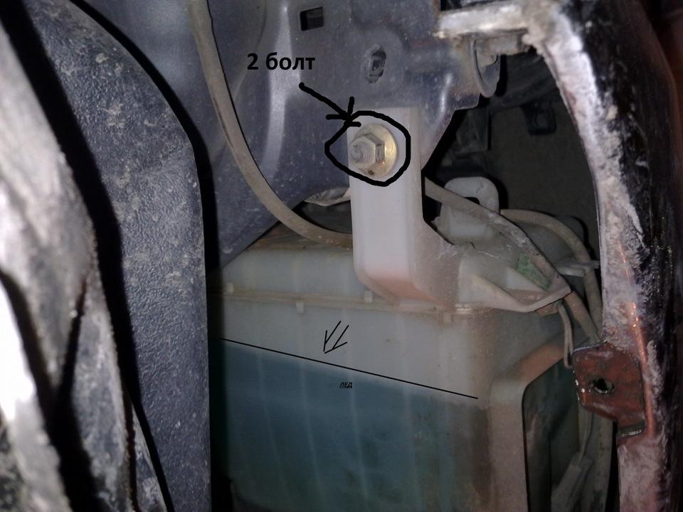 Замена ступицы рено дастер