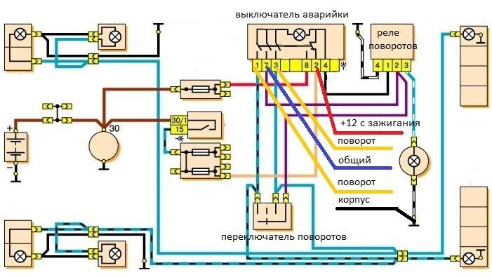 схема бензонасоса уаз буханка инжектор