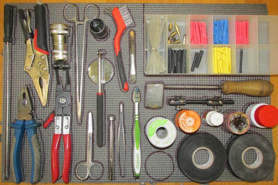 Ложемент для инструментов