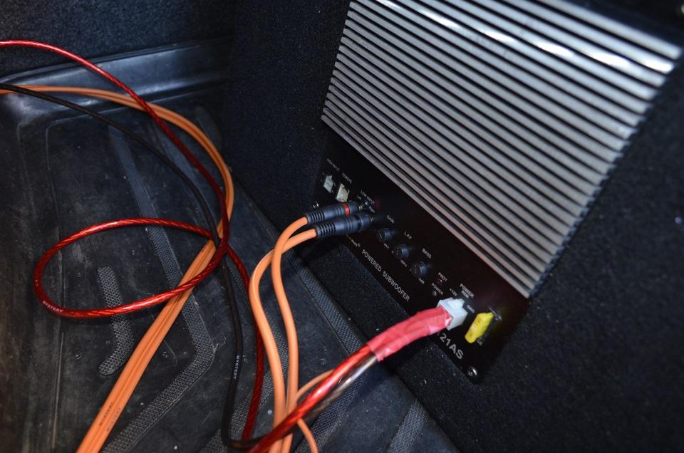 Как сделать провода на сабвуфер