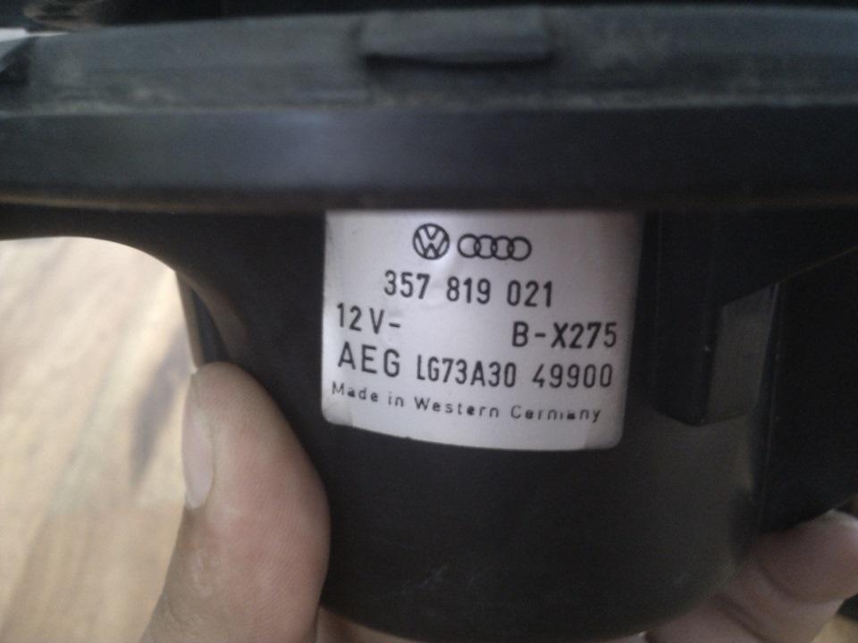 как поменять моторчик печки на фольксваген транспортер т4