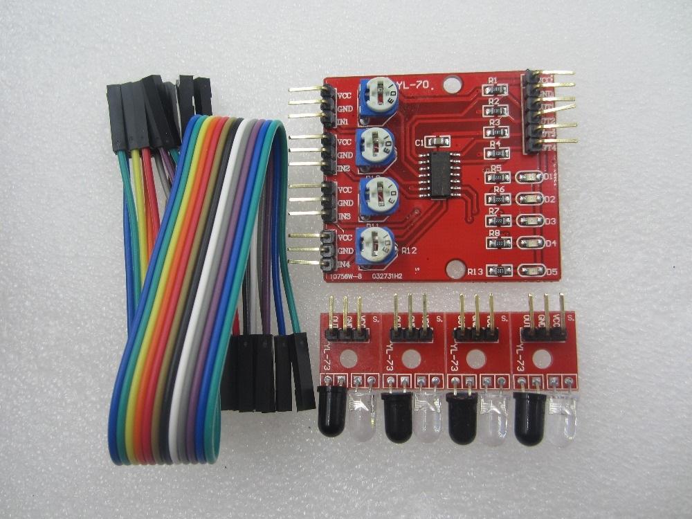 robotяга arduino Едем по ЛИНИИ drive Полный размер