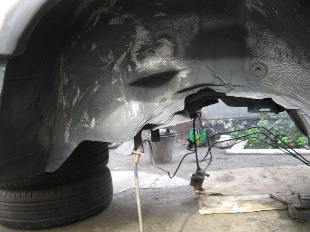 Ура наконец то закончил заднюю часть авто, осталось ток покрасить днище и можно ставить балку на место.