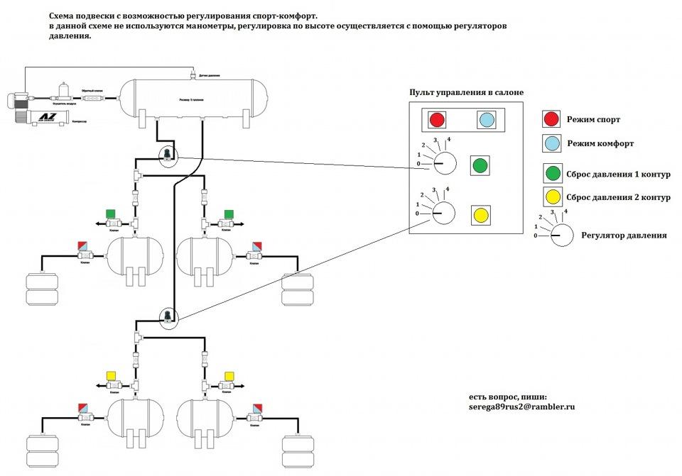 4х контурная схема