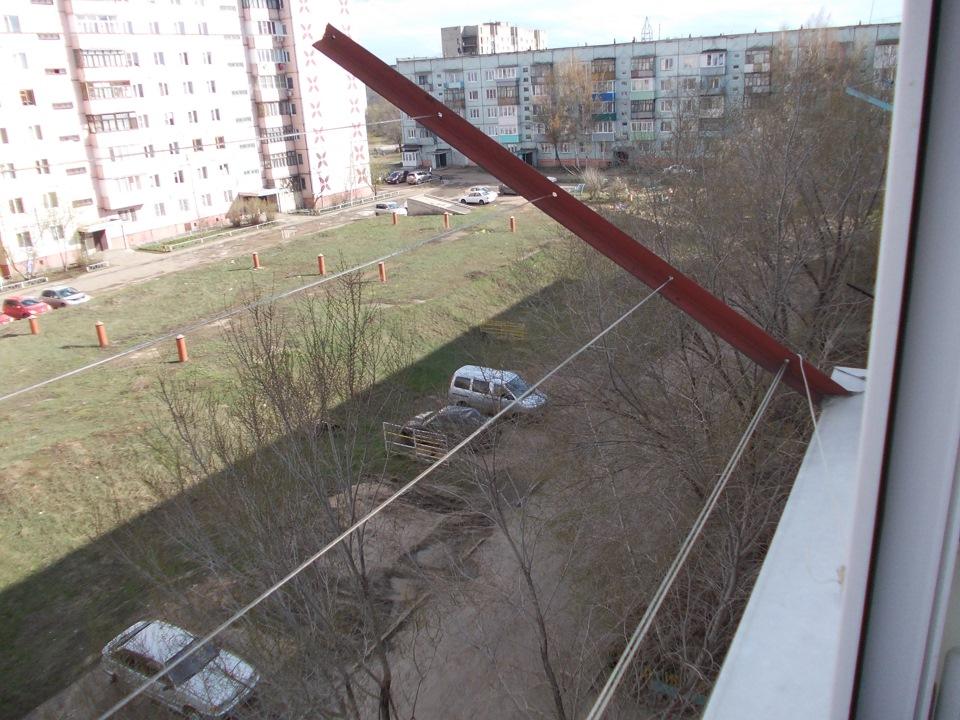 """Приспособа для натягивания верёвок на балконе - сообщество """"."""