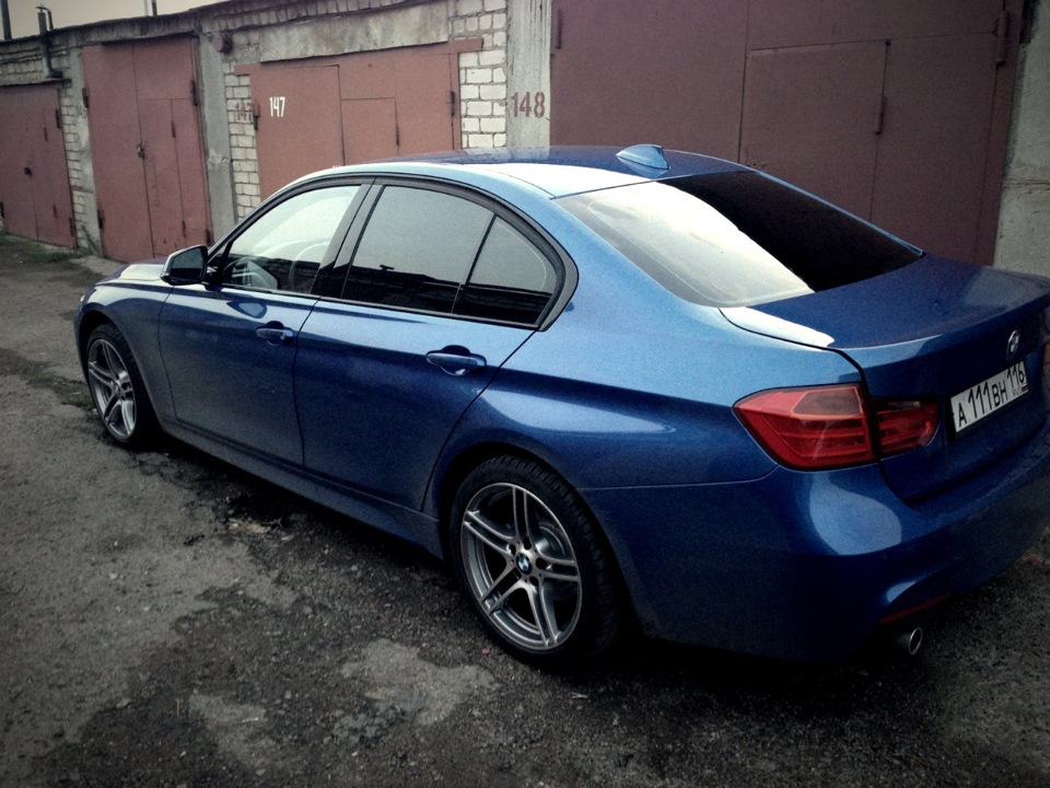 8 примеряем 18r 313 Style Performance Wheels на F30 Bmw 3 Series