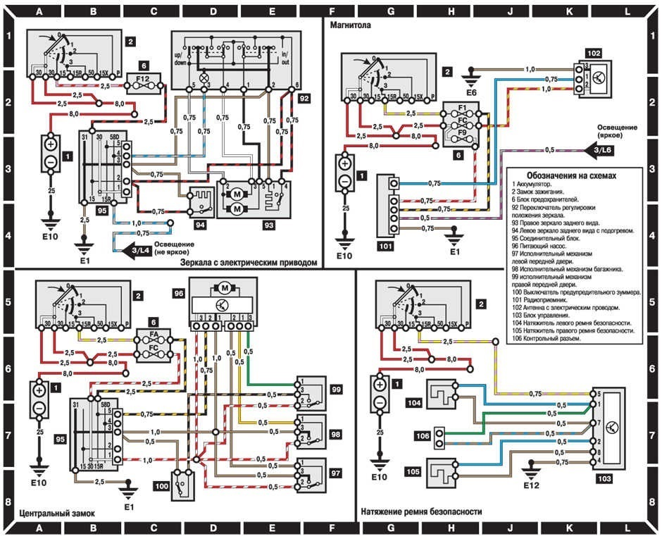 Mercedes W124 Wiring Diagrams  U2014 Logbook Mercedes