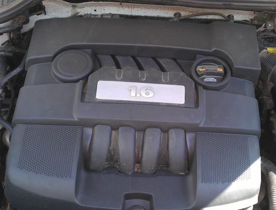 всх двигателя skoda octavia 1.6