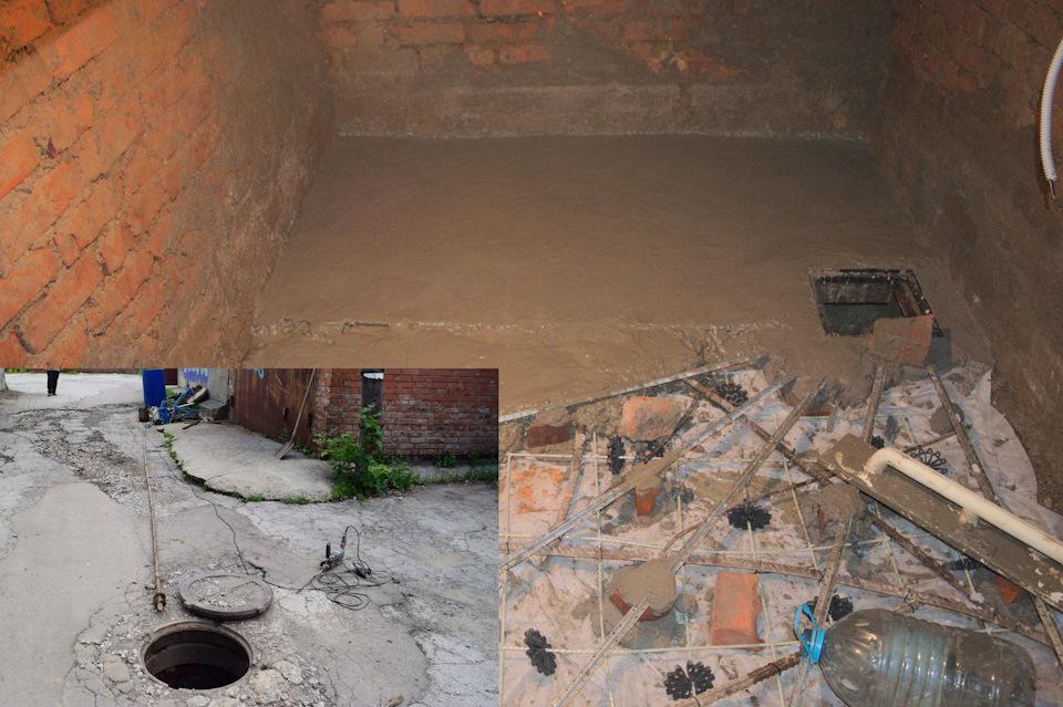 как просушить бетонный гараж