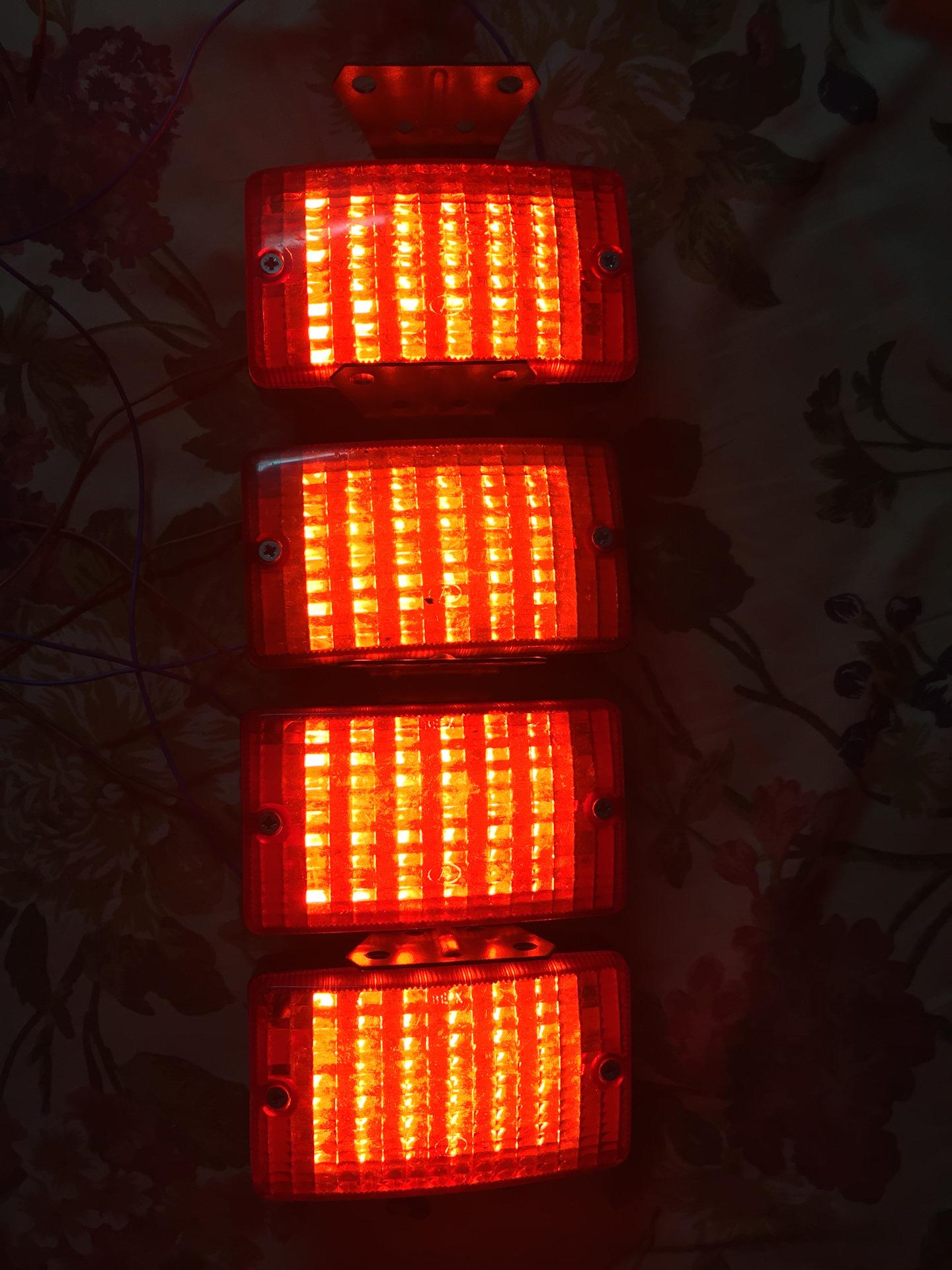 Светодиодный мощный фонарь изготовленный 27