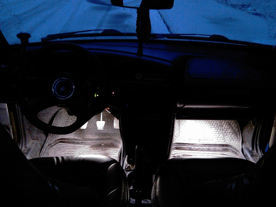 """Подсветка в ноги ваз 2114 - Сообщество """"Светодиодный Тюнинг"""" на DRIVE2"""