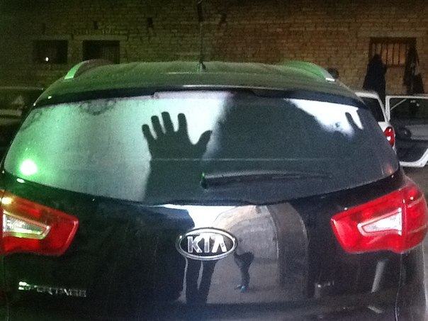 Секс в машине наклейка на стекло