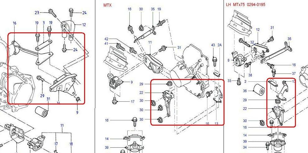 двигателя/КПП ВАЗ 2110