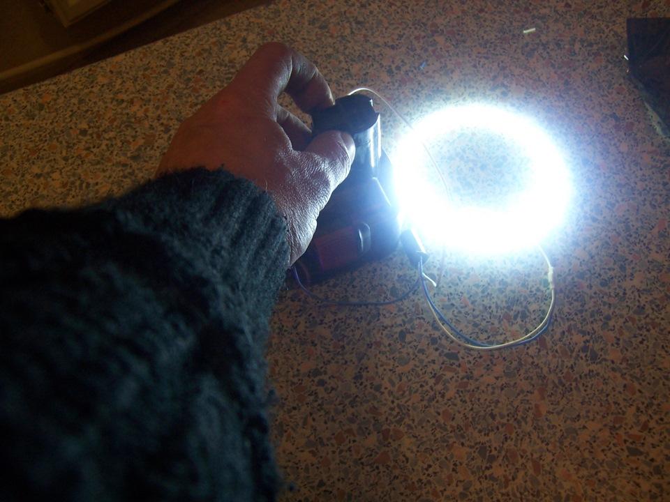 Самоделки своими руками из светодиодов