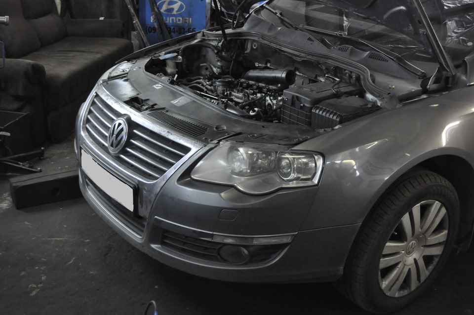 надёжность двигателя bvy volkswagen b6