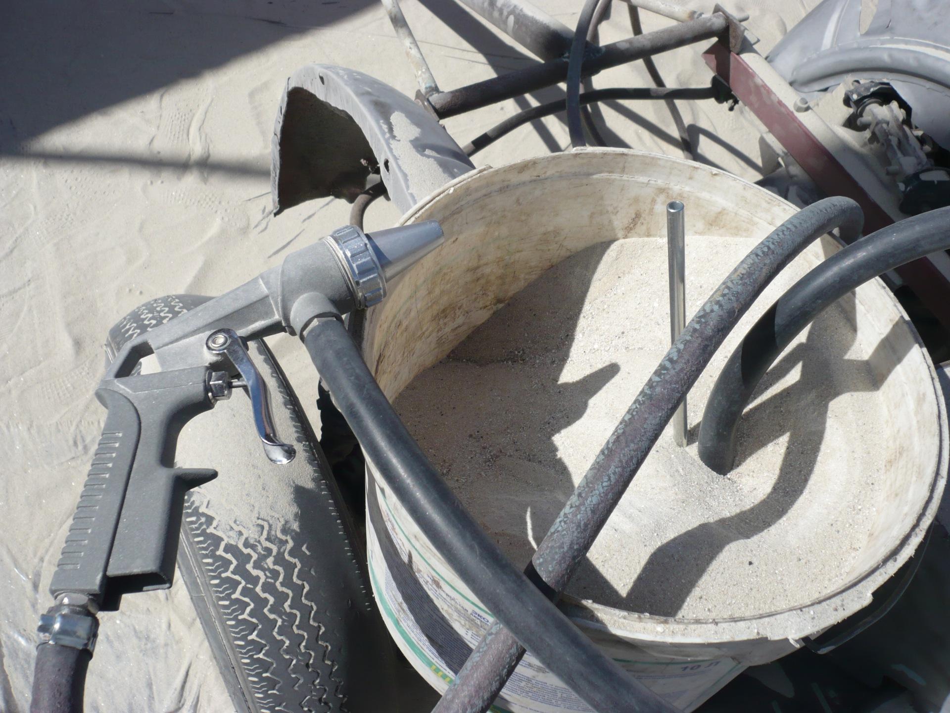 пескоструйная обработка какой песок
