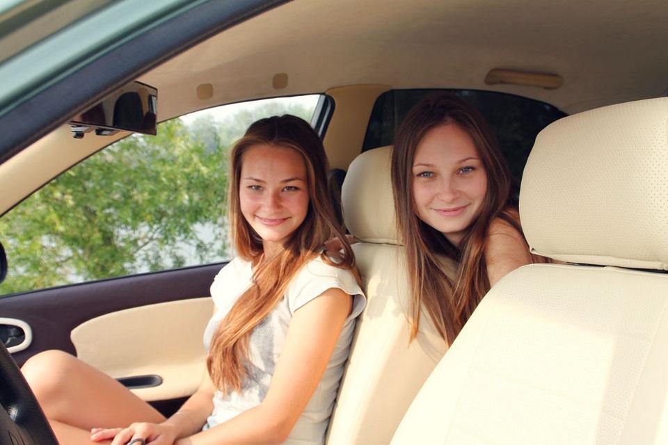 С сестрой жены
