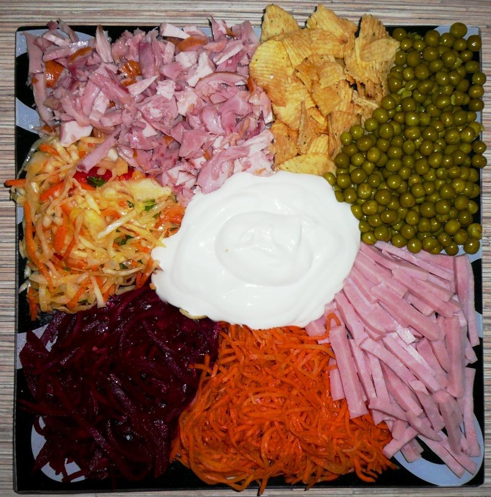 линяют, салат горками рецепт с фото пошагово благодарен сотрудникам