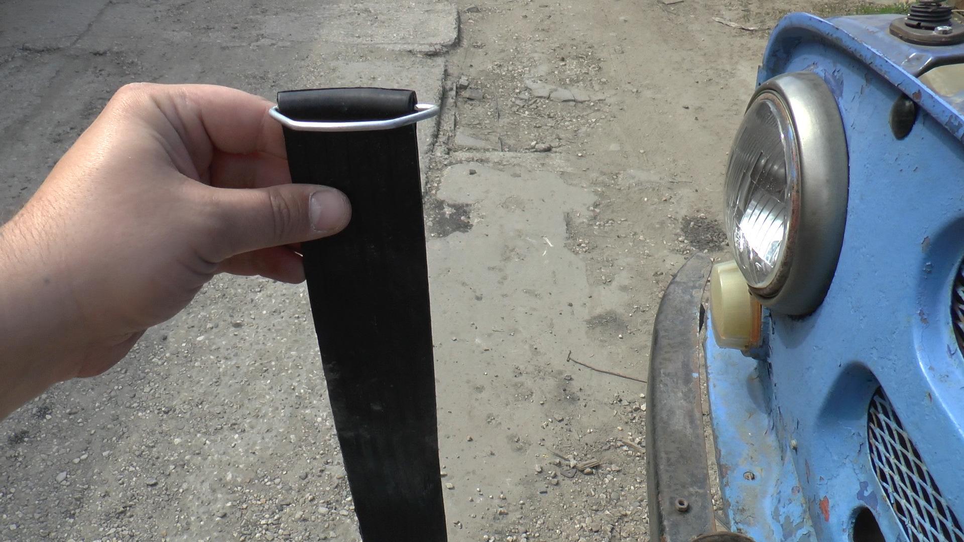 Крепление аккумулятора в УАЗ 469