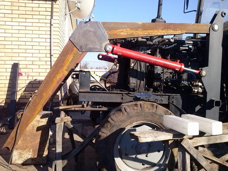 Кун на самодельный трактор как сделать