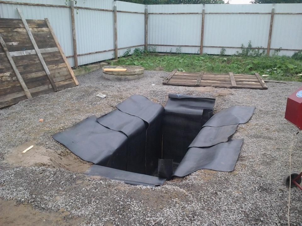 Как сделать яму в гараже если грунтовые