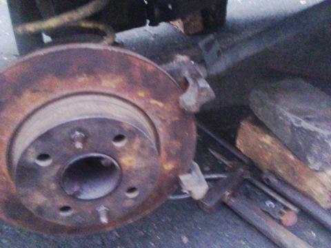 Как сделать задние дисковые тормоза на ваз 2106