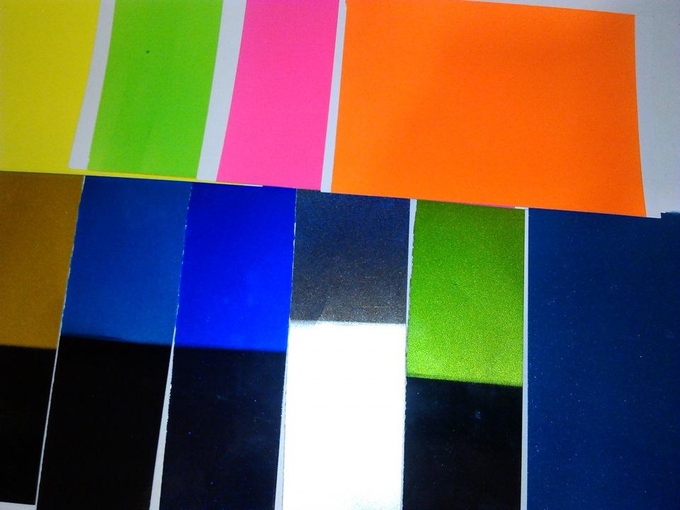 Какие цвета яркие цвета