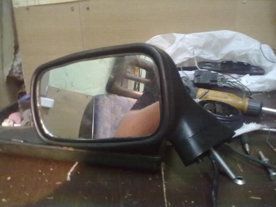 Как сделать чтобы не складывались зеркала