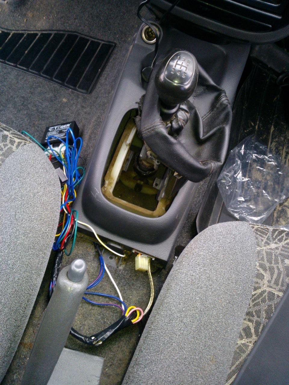 Установить сигнализацию на авто своими руками на сенс