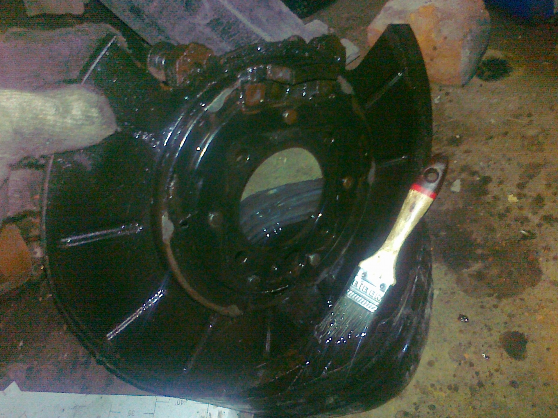 MR111877 Mitsubishi кольцо стопорное подшипника задней полуоси