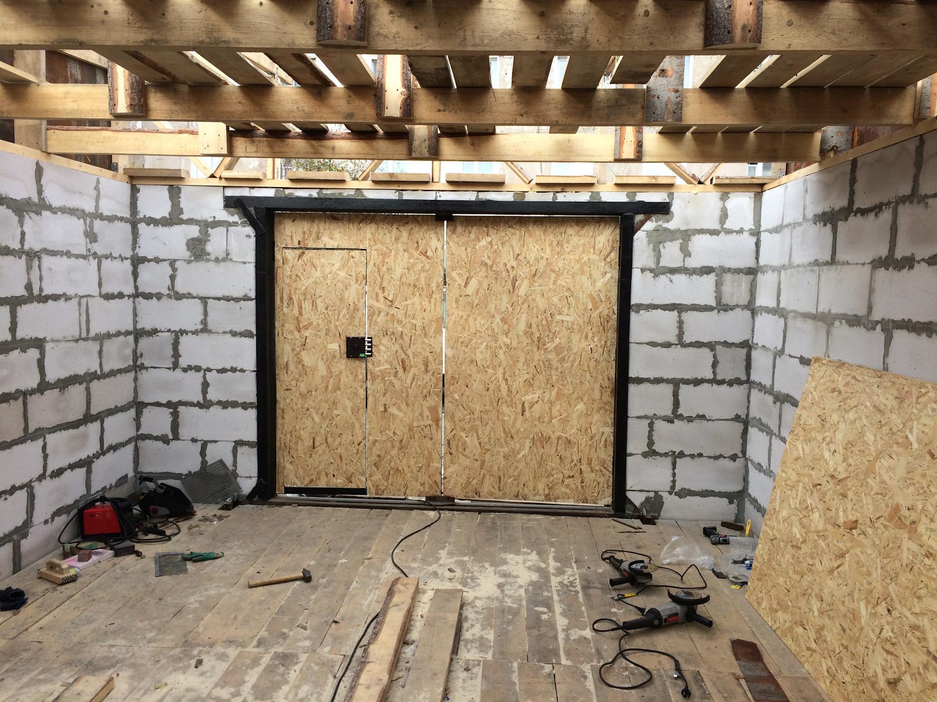 самые дешевые блоки для строительства гаража