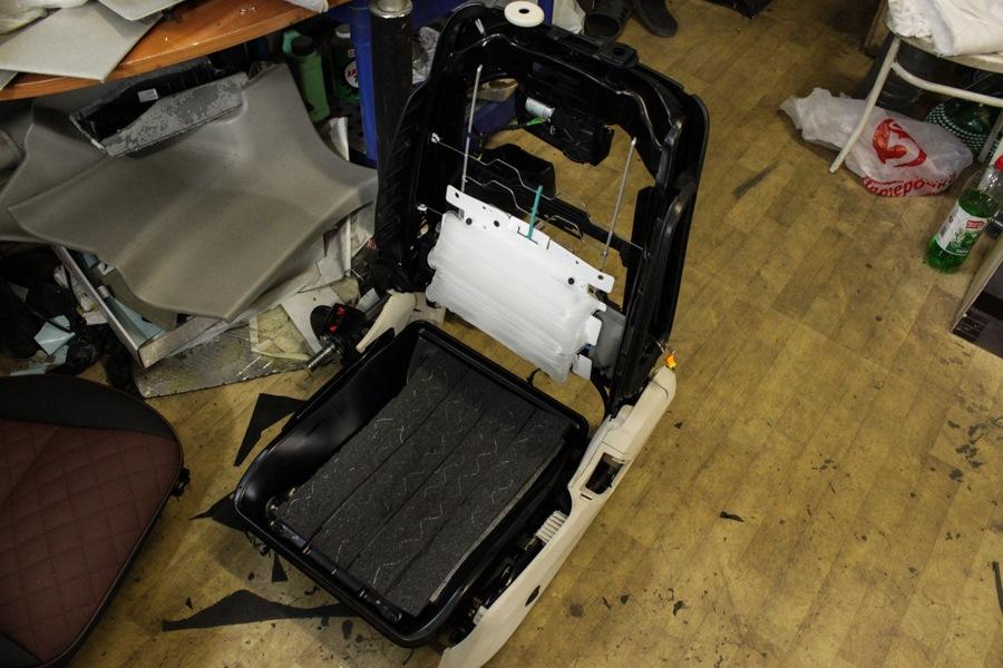 Установка вентиляции сидений автомобиля