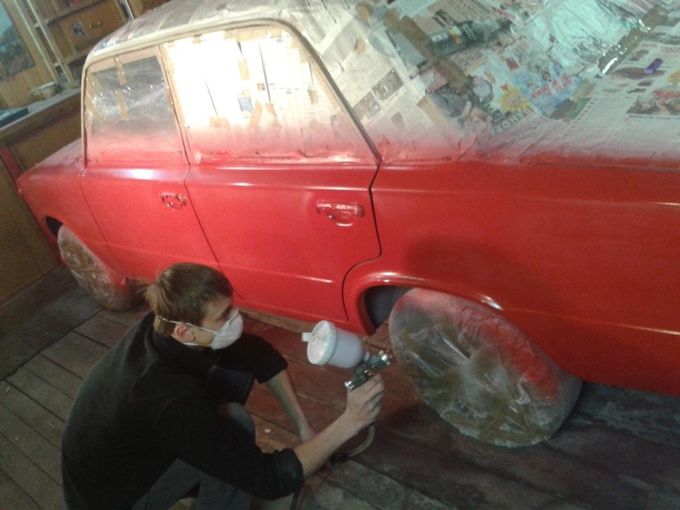 Подготовка ваз 2106 к покраске видео
