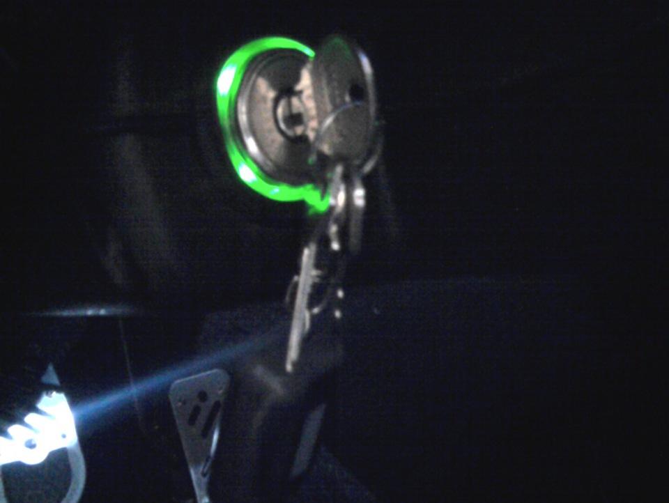 выключение света в салоне
