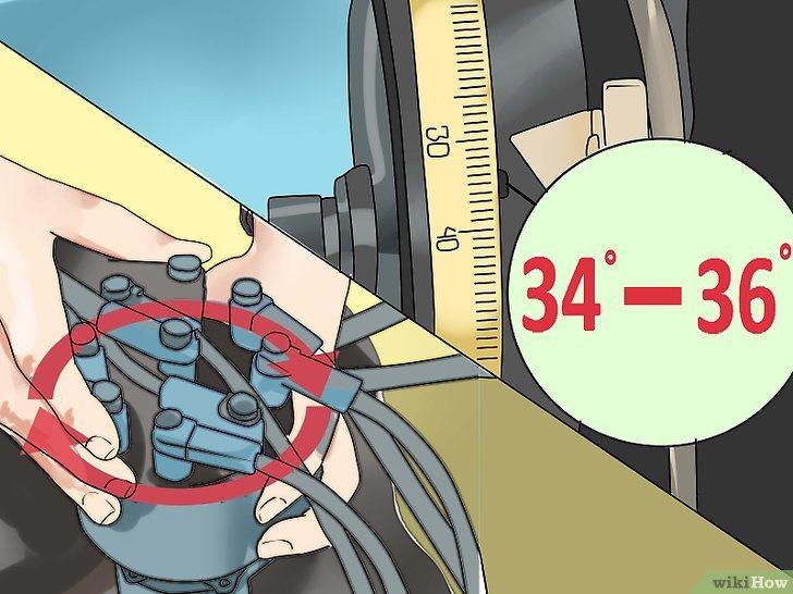 Как отрегулировать угол опережения зажигания