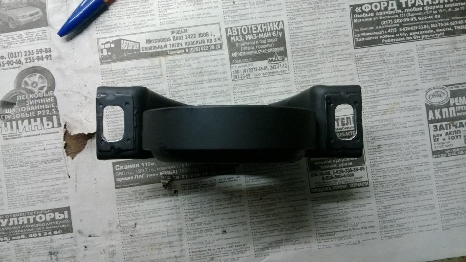 Замена подвесной опоры и подшипника кардана A4 B6.