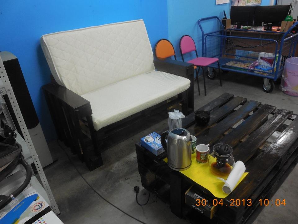 Мебель из подручных материалов своими руками для
