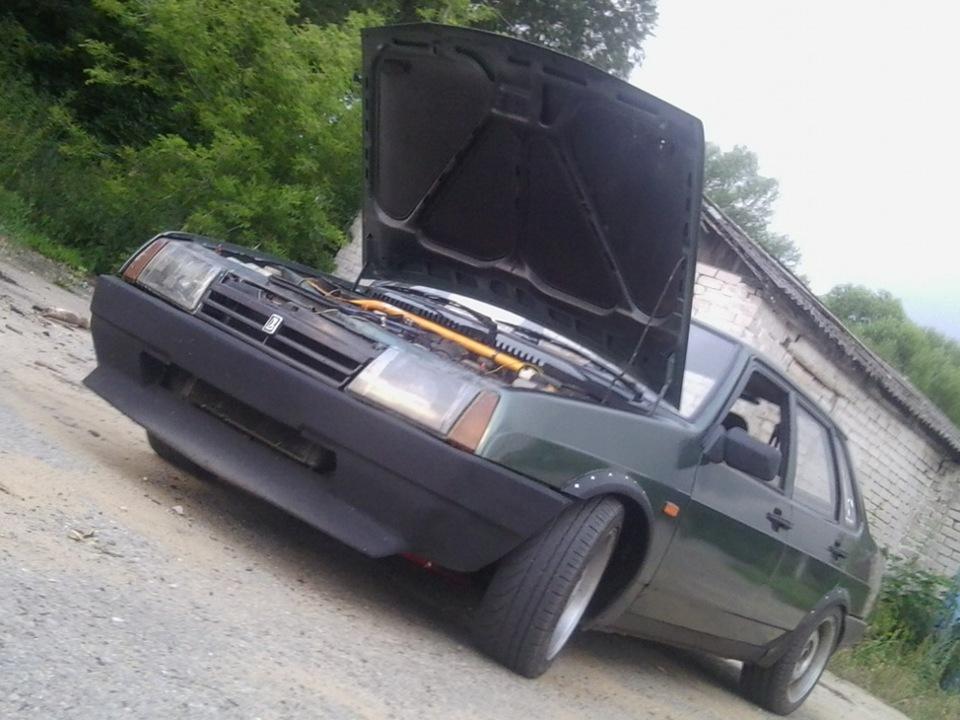 Бампер+губа=стоит ли это делать? - бортжурнал Лада 2109 09 Low Car 1994 года на DRIVE2