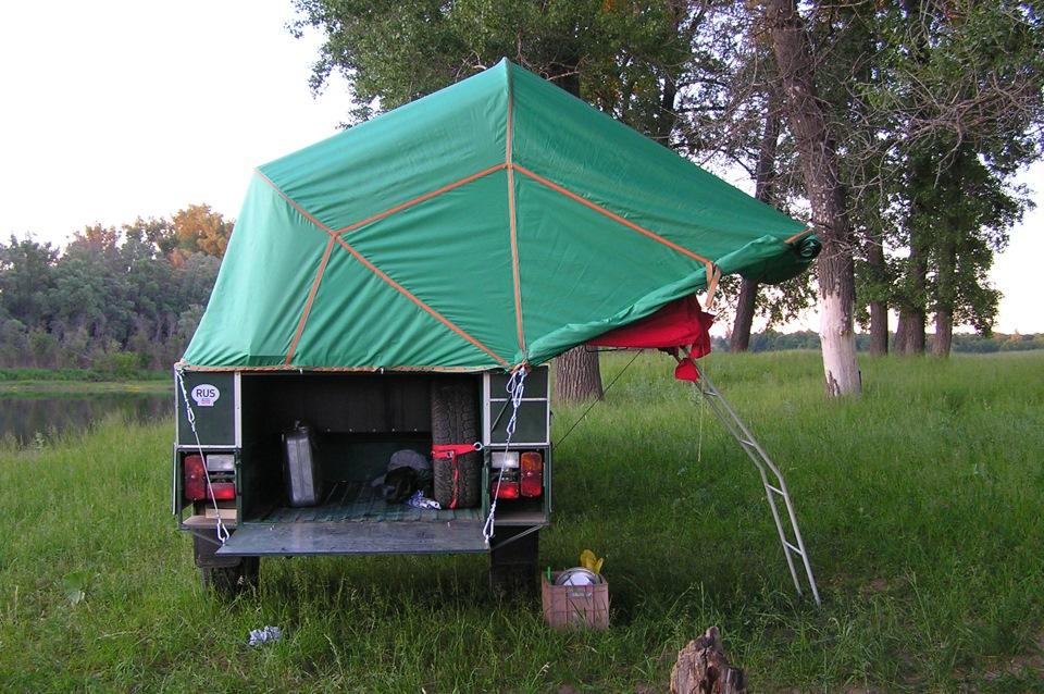 Прицеп палатка для рыбалки отдыха