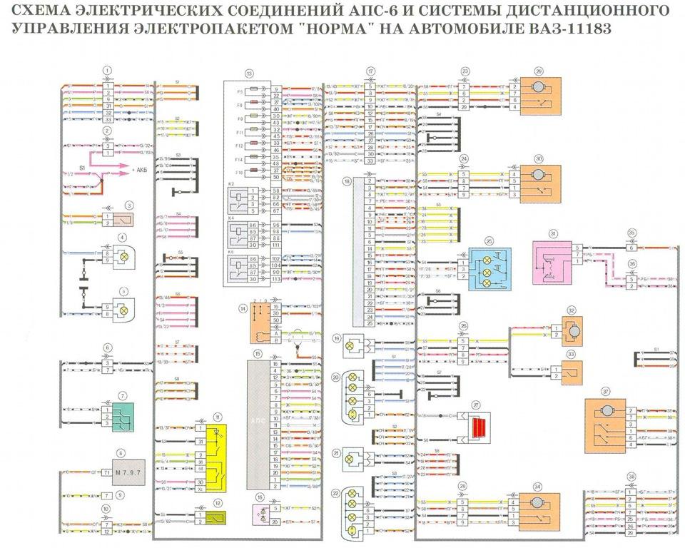 Схема подключения привода багажника