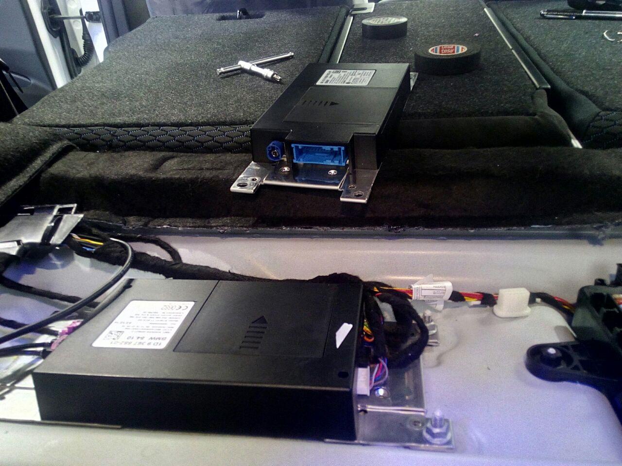BMW F30 NBT EVO + ATM — DopBMW на DRIVE2