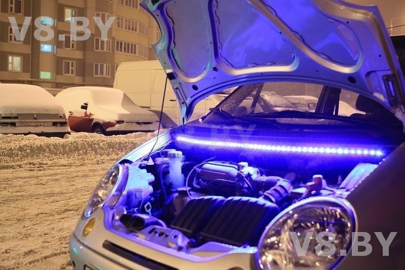 Светодиодная тюнинг авто своими руками