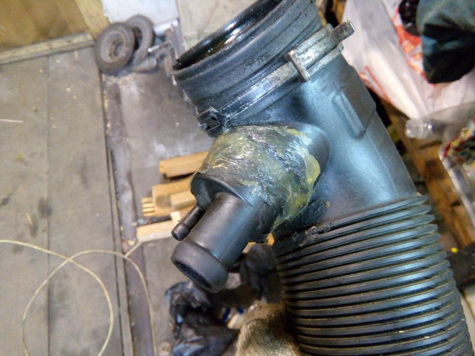 Ремонт системы вентиляции картерных газов
